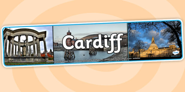 Cardiff Photo Display Banner - cardiff, photo banner, photo display banner, display banner, display header, header, banner, header for display, photos