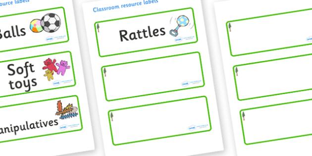Redwood Themed Editable Additional Resource Labels - Themed Label template, Resource Label, Name Labels, Editable Labels, Drawer Labels, KS1 Labels, Foundation Labels, Foundation Stage Labels, Teaching Labels, Resource Labels, Tray Labels, Printable