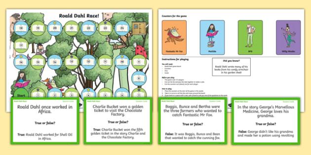 Roald Dahl Board Game