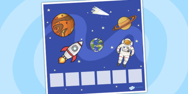 Space Themed Visual Timetable Display - Visual Timetable, education, home school, space, child development, children activities, free, kids