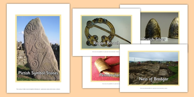 The Picts Photo Pack - CfE, Social Studies, The Picts, photo pack