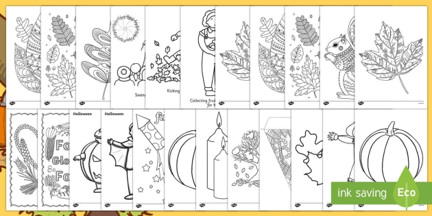 Autumn Colouring Resource Pack - Adult Colouring, Themes, Art, Display, Ideas, Support, Activity Co-ordinators, Elderly care, Care Ho
