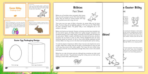 Australia - Easter Bilby Resource Pack - australia, easter bilby, resource pack, resource, pack