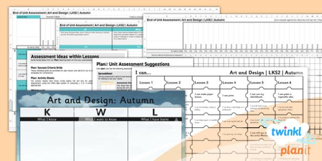 Art: LKS2 Autumn Unit Assessment Pack