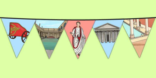 The Romans Themed Display Bunting - romans, themed, display bunting, display, bunting