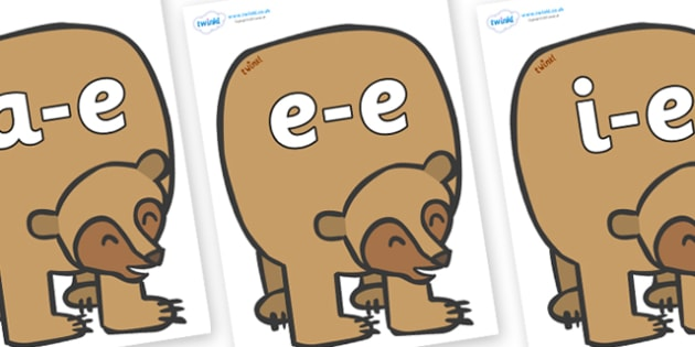 Initial Letter Blends on Brown Bear to Support Teaching on Brown Bear, Brown Bear - Initial Letters, initial letter, letter blend, letter blends, consonant, consonants, digraph, trigraph, literacy, alphabet, letters, foundation stage literacy