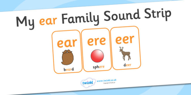 My ear Family Sound Strip - family sound strip, sound strip, my family sound strip, my ear sound strip, ear sound strip, ear family sound strip