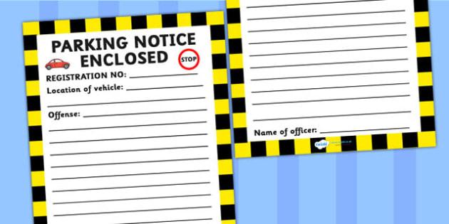 Blank Parking Template - parking, template, blank template, cars