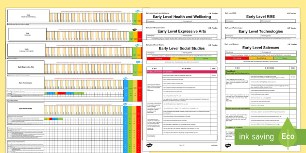 CfE Early Tracking and Assessment Bumper Planning Pack - CfE Tracking and Assessment, tracker, planning, monitoring, progression,Scottish