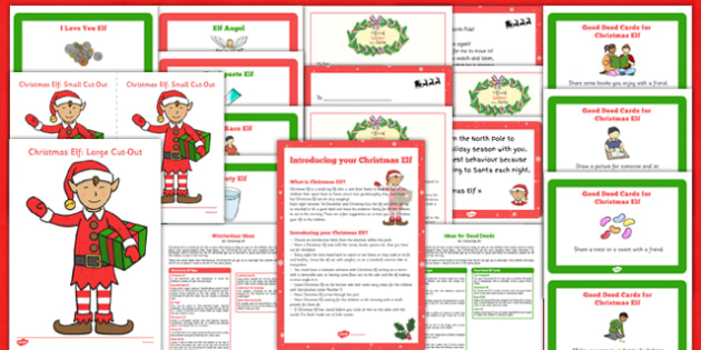 Christmas Elf Resource Pack - christmas elf, resource pack,  shelf, christmas, elf