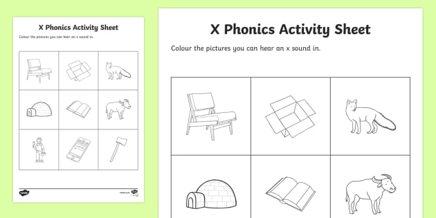 x Phonics Colouring Activity Sheet - Republic of Ireland, Phonics Resources, sounding out, phonics assessment, colouring, activity sheet,