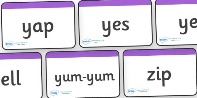 Phase 3 Words Using Sets 1-7 GPC Word Cards - Phase 3, suggested words, GPC, GPCs, Phase three, Word cards, DfES Letters and Sounds, Letters and sounds, phase 3 activity