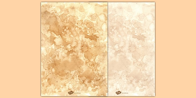 Tea Stained Vintage Style Paper - tea stained, vintage, style, paper, old, history