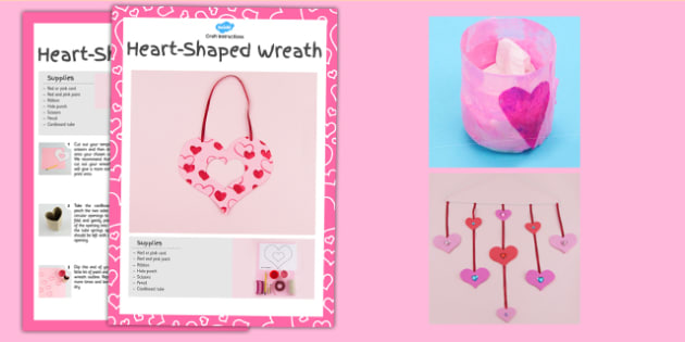 Valentine's Day Craft Activity Pack - craft, pack, activity pack