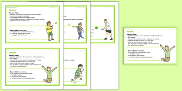 Foundation PE (Reception) – Games - The Olympics Teacher Support Cards Pack - EYFS, PE, Physical Development, Planning