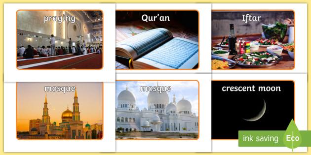 Ramadan Display Photos - EYFS, Early Years, KS1, religion, faith, belief, Ramadan, Eid, Islam, Muslim, festival.