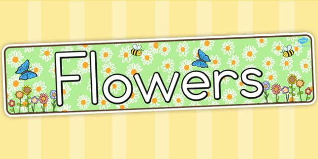 Flower Display Banner - Australia, Flower, Display, Banner, Grow