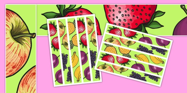 Fruit Salad Display Borders - olivers fruit salad, fruit salad, display borders