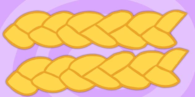 Rapunzel Golden Hair Display Borders - rapunzel, golden hair, display borders, rapunzel display borders, rapunzel borders, display headers, border display