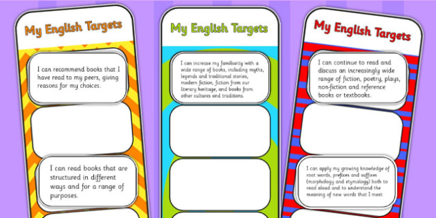 2014 Curriculum UKS2 Years 5 and 6 English Assessment Bookmarks