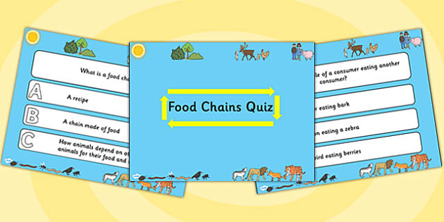Science Food Chains PowerPoint Quiz - science, food chains, powerpoint, quiz, powerpoint quiz, science quiz, food chains quiz, science powerpoint, quizzes