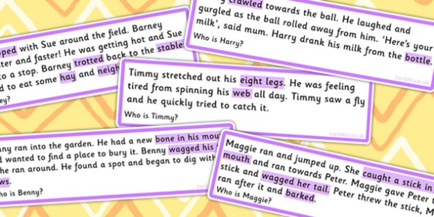 Who Are They Infer From The Text Cards Clues Highlighted - SEN