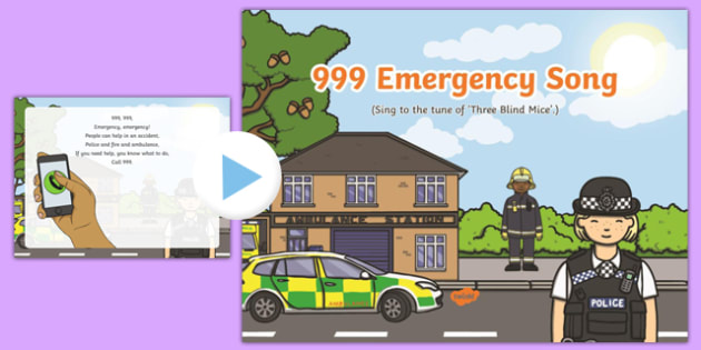 999 Emergency Song PowerPoint