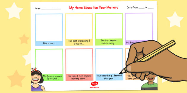 Home Education Year Memory Write up - home education, year, memory