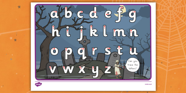Halloween Themed Letter Writing Worksheet - early years, ks1, ks2, english, literacy, activity, formation, pd, fine motor skills,