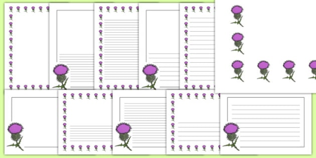baby border for word document