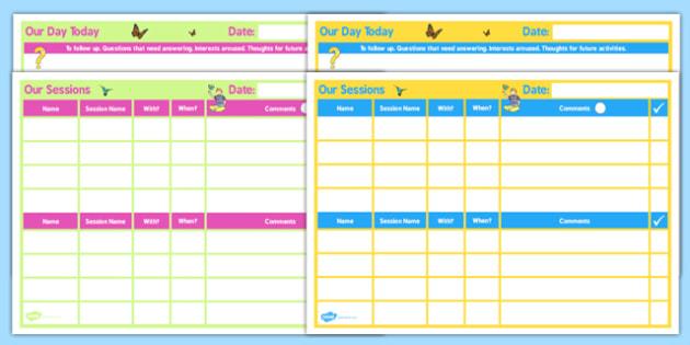 SEN Daily 2 Child Home Educator Planner - sen, educator, home