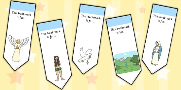 Bible Bookmarks - religion, RE, christianity, book marks, awards