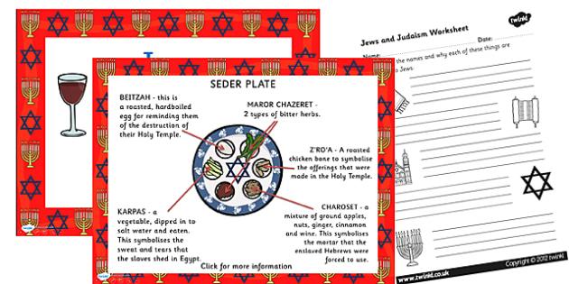 Jews and Judaism PowerPoint and Worksheet - jews, judaism, powerpoint, worksheet, jews powerpoint, judaism powerpoint, jews worksheet, judaism worksheet, judiasm