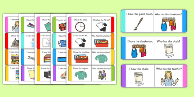 School Loop Cards - school, loop cards, loop, cards, activity