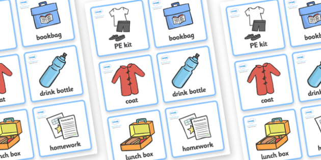 Morning Organisation Cards -  Timetable, daily routine, education, home school, child development, children activities, free, kids, children behaviour
