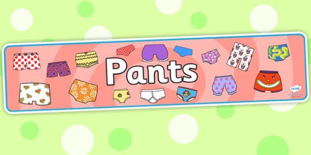 Display Banner to Support Teaching on Pants - pants, display banner, banner for display, display, banner, header, header for display, header display, display header