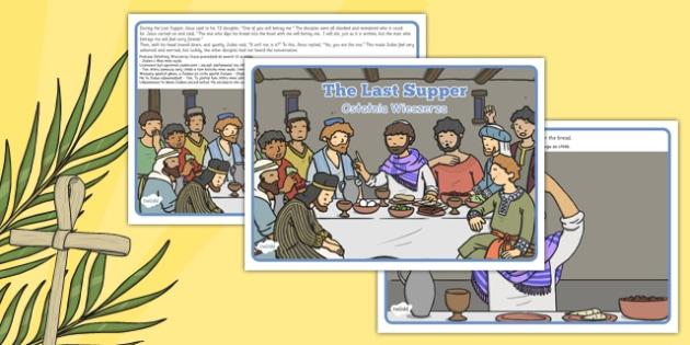 The Last Supper Story Polish Translation - polish, Easter, stories, christianity, religion