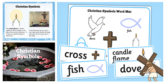 Christian Signs and Symbols Lesson Teaching Pack - teaching, pack