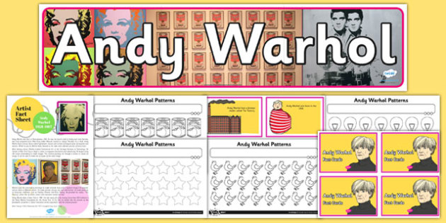 Andy Warhol Artist Inspiration