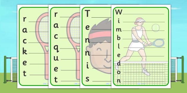 Wimbledon Acrostic Poem Template - wimbledon, 2013 wimbledon tournament, wimbledon poem template, wimbledon writing frame, wimbledon writing template