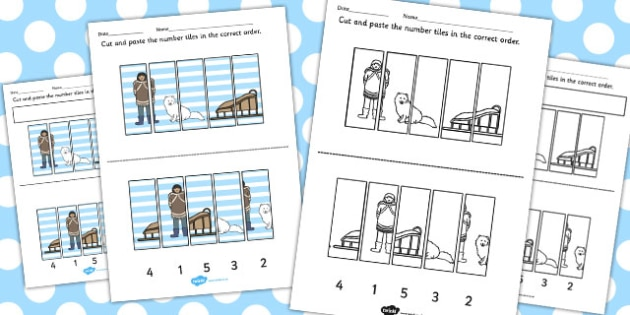 Polar Regions Number Sequencing Puzzle - Puzzles, Numbers, Polar