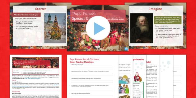 KS3 English Christmas Lesson Pack