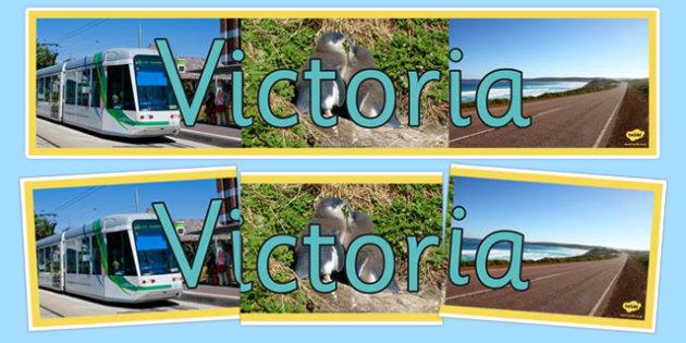 Victoria Display Banner - australia, States and Territories, Vic, Victoria, display