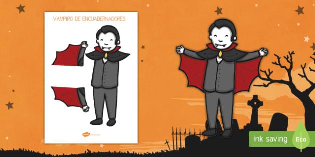 Vampiro Actividad de encuadernadores