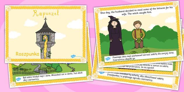Rapunzel Story Polish Translation - polish, rapunzel, story, tale