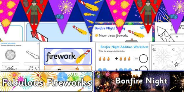 Childminder Bonfire Night Resource Pack - childminder, bonfire