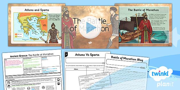History: Ancient Greece: The Battle of Marathon KS2 Lesson Pack 4