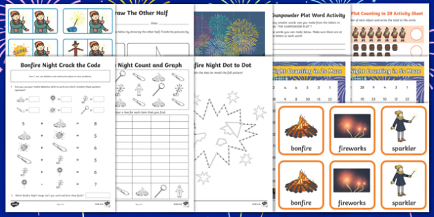 Bonfire Night  Activity Pack