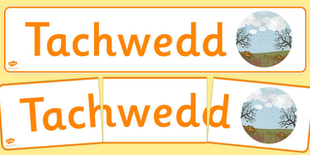 Tachwedd Display Banner Cymraeg - cymraeg, year, months of the year, november
