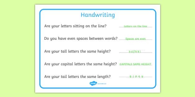 Handwriting Reminder Sheets - writing aid, Line Guides, name, Handwriting, Writing aid, Learning to write, Write name, prompts, writing prompts
